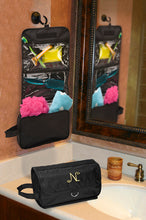 Load image into Gallery viewer, Jet-Setter Hanging Toiletry Bag