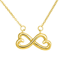 "Load image into Gallery viewer, Dad to Daughter ""Here for You"" Infiniti Necklace"