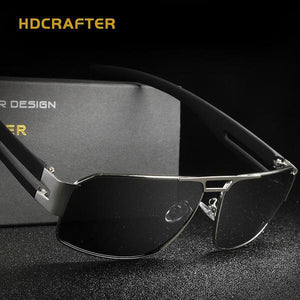 Sunglasses - Fashion Polarized Driving Men's Sunglasses + Original Box