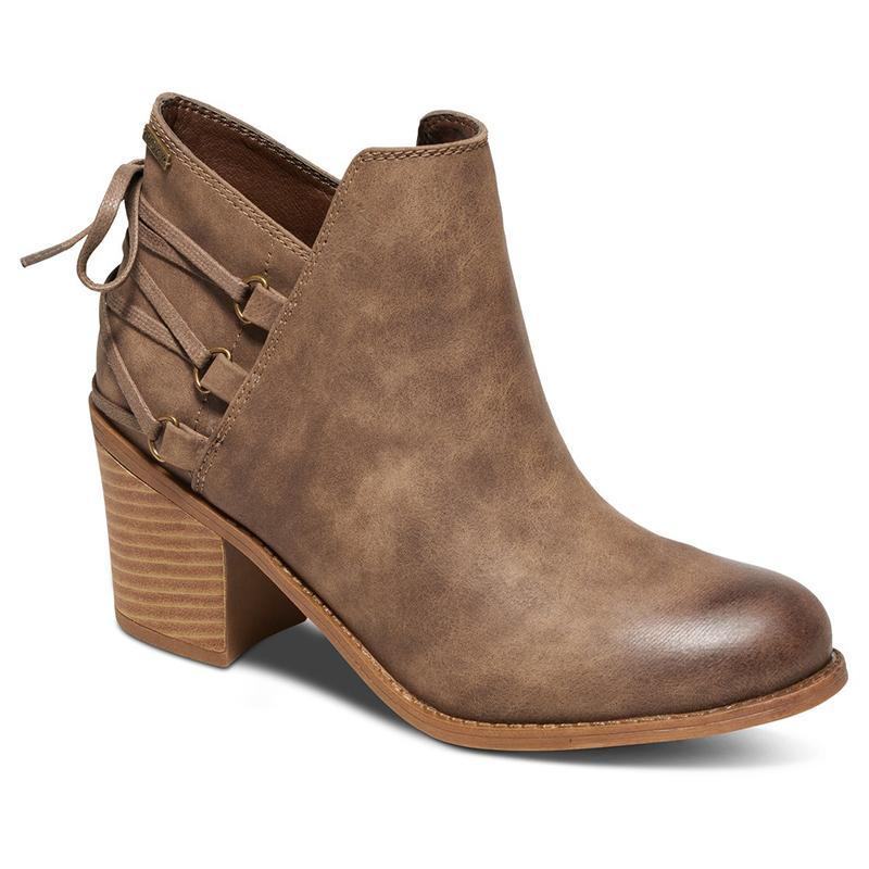 Womens Casual All Season Lace-up Synthetic Leather Ankle Boots