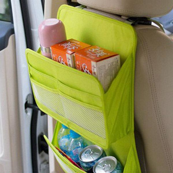 Multi-functional Car Seat Storage Bag Dacron Storage Bag