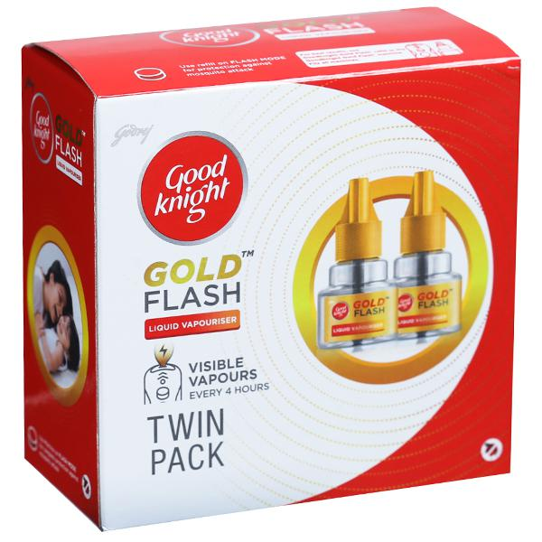 Good Knight Flash Twin Refill 2 N (45 ml Each)