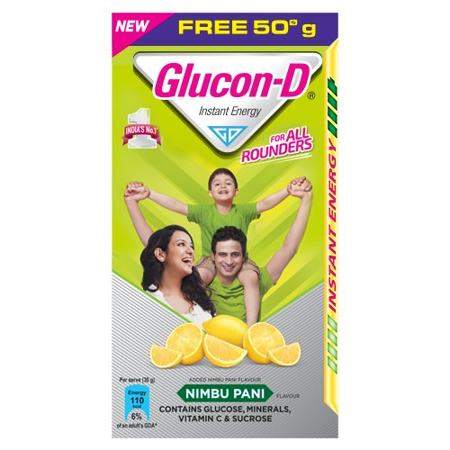 Glucon-D Lime Refill, 75 g