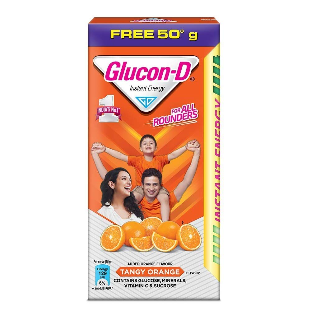 Glucon-D Orange Refill, 75 g
