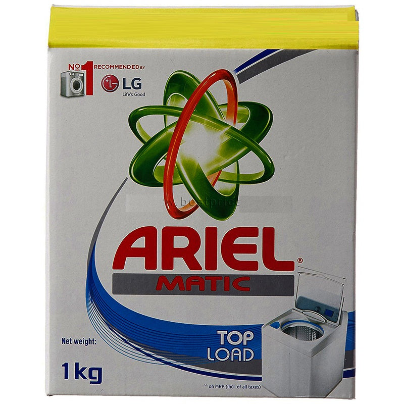 Ariel Detergent Powder Top Load, 1 kg