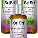 Sri Sri Tattva Brahmi Bhringaraj Taila -200 ml (Pack of 3)