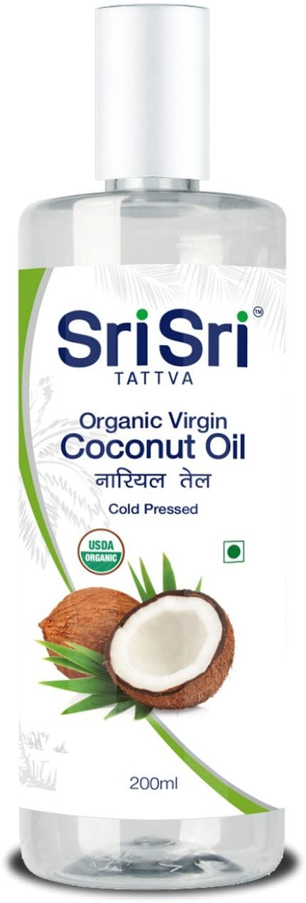 Sri Sri Tattva Organic Virgin Coconut Oil - 200 ml