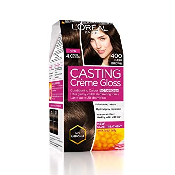 L'Oreal Paris Hair Colour Dark Chocolate Hair Colour, 72 ml+87.5 g