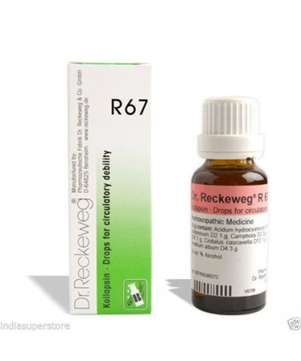 Dr. Reckeweg R67 Circulatory Debility Drop