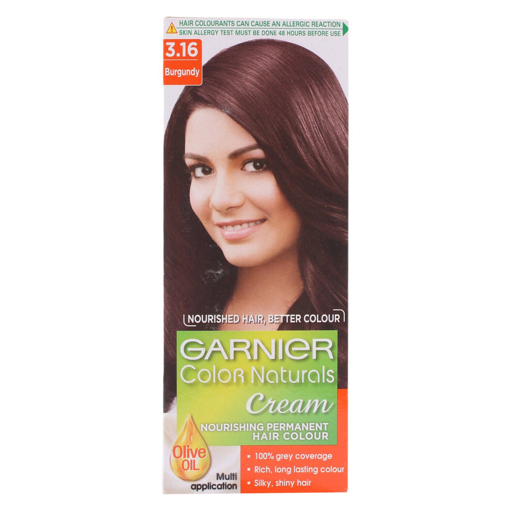 Garnier Color Natural Hair Colour Shade No 3.16, 60 ml + 40 g