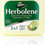Herbolene Aloe Petroleum Jelly with Aloe Vera & Vitamin E 425 ml (Pack of 2)
