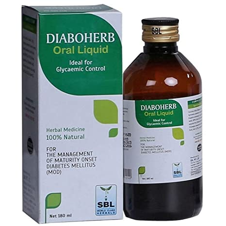 SBL Diaboherb Plus Oral Liquid Strawberry