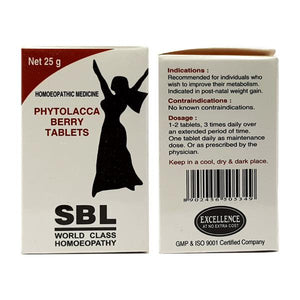 SBL Phytolacca Berry Tablet