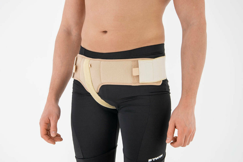 New Single Side Hernia Belt With Left Side Both Support S-M-L-XL-XXL