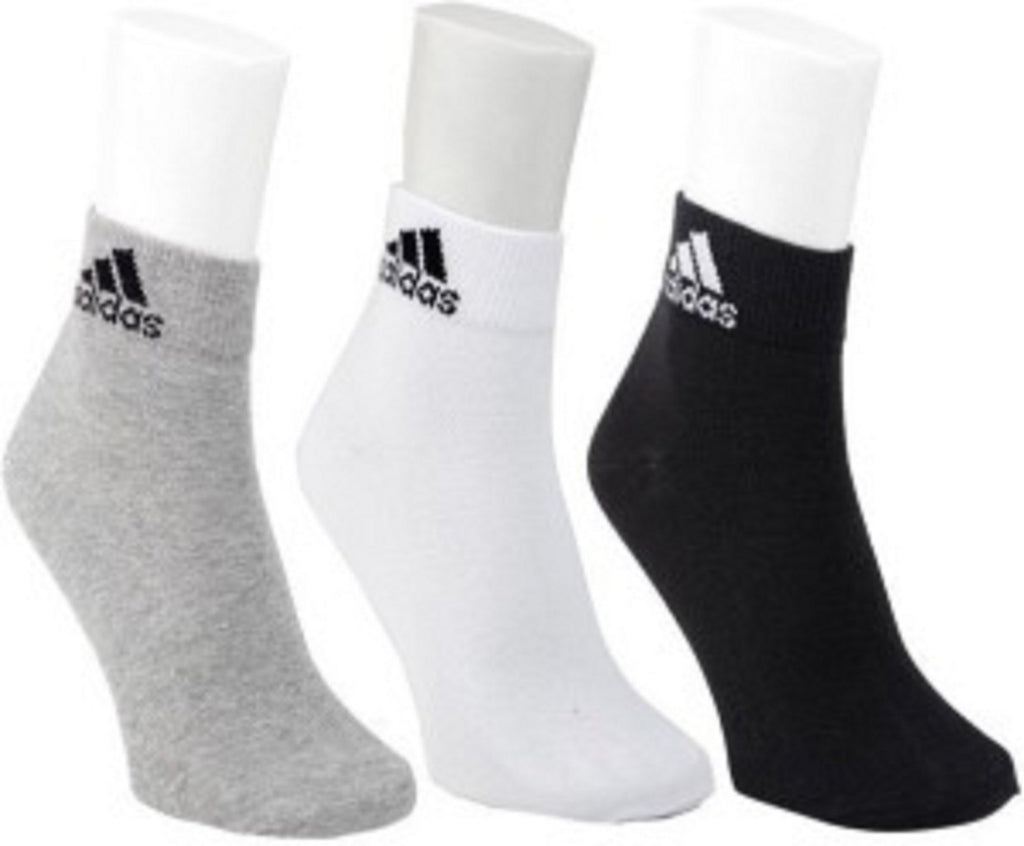 Adidas socks pair of 3 ankle length