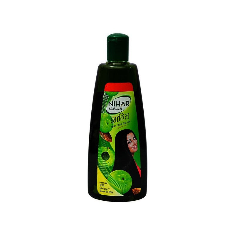 Nihar Shanti Badam Hair Oil 3 N (80 ml Each)
