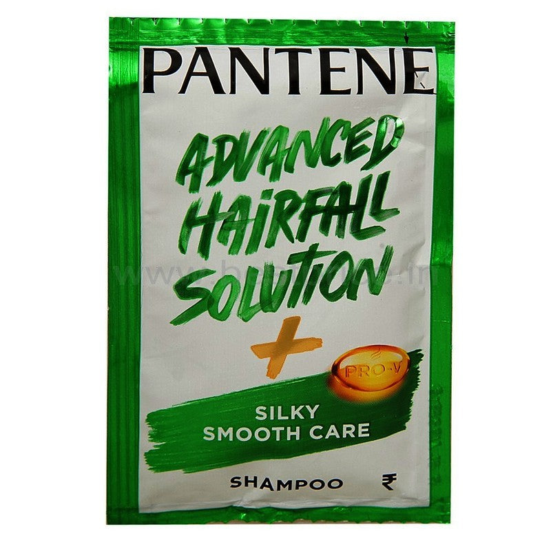 Pantene Shampoo Sachet Silky Smooth, 16 N (7.5 ml Each)