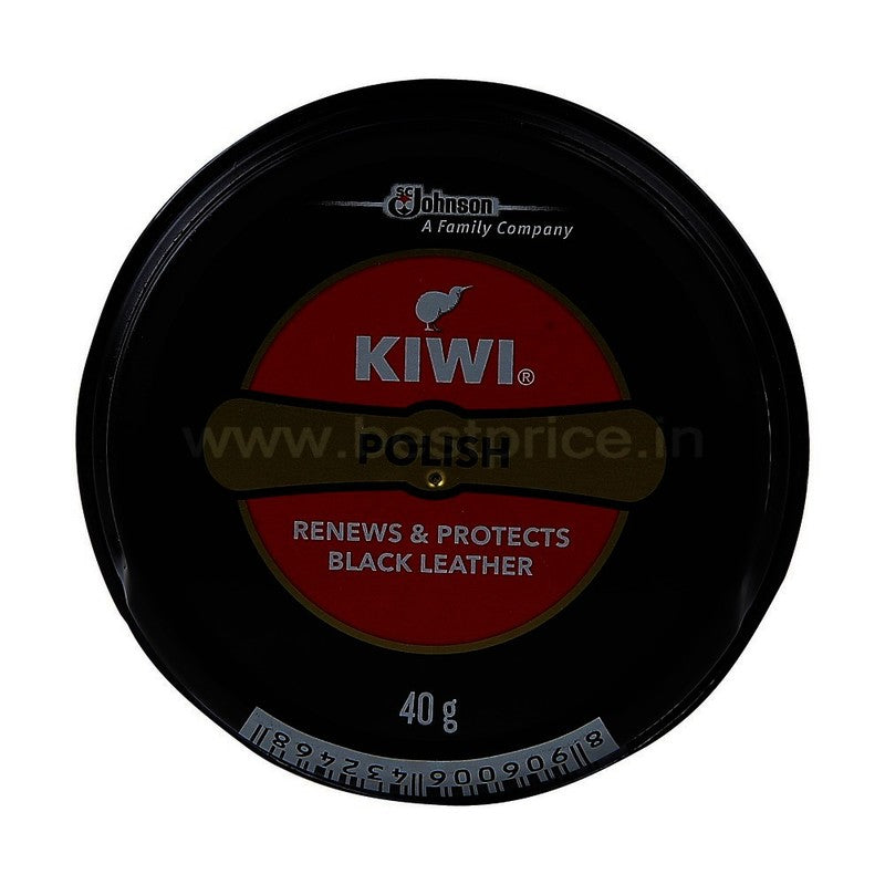 Kiwi Wax Shine Shoe Polish Black, 40 g