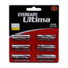 Eveready AAA Cell Battery Ultima 2112, 6 N