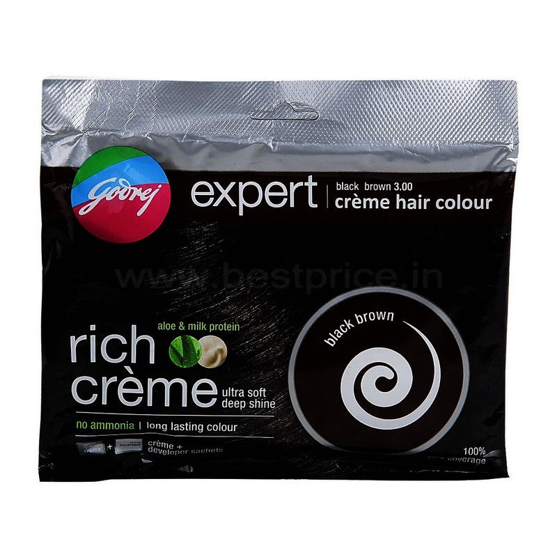 Godrej Expert Black Brown Hair Color 20 g + 20 ml