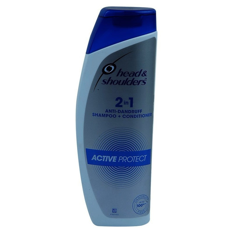 Head & Shoulders 2 In 1 Shampoo & Conditioner Active Protect, 360 ml