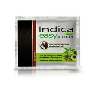 Indica Easy Hair Colour Dark Brown, 18 ml