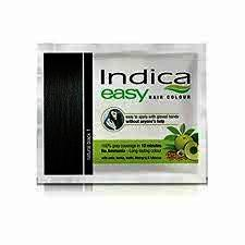 Indica Easy Hair Colour Black, 18 ml