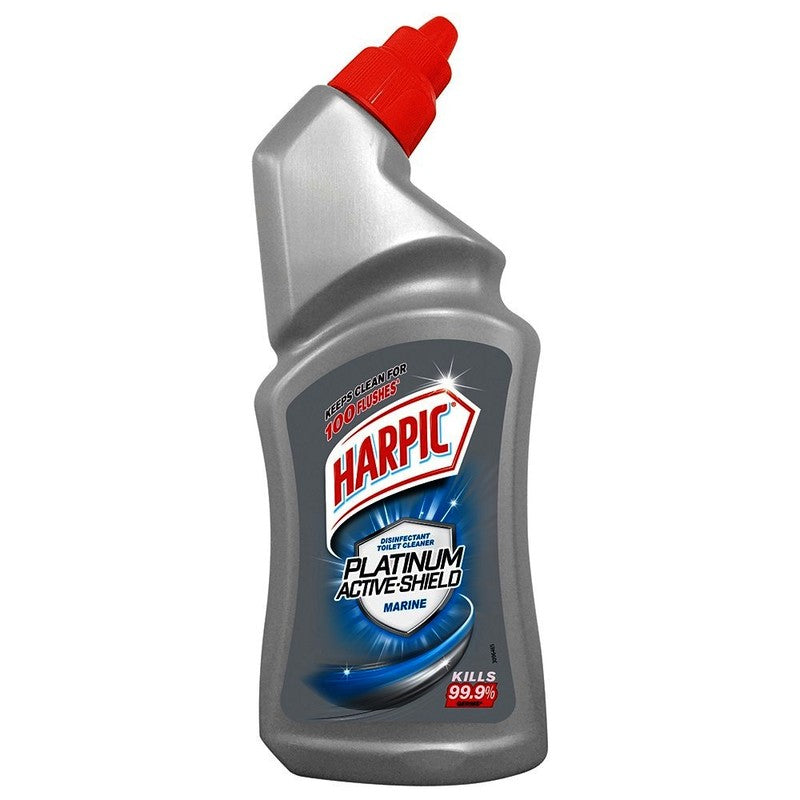 Harpic Toilet Cleaner Marine, 500 ml