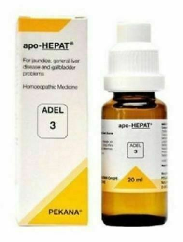 Adel Pekana Adel 3 (Apo-Hepat) 20ml For Jaundice General Liver Disease Free Ship