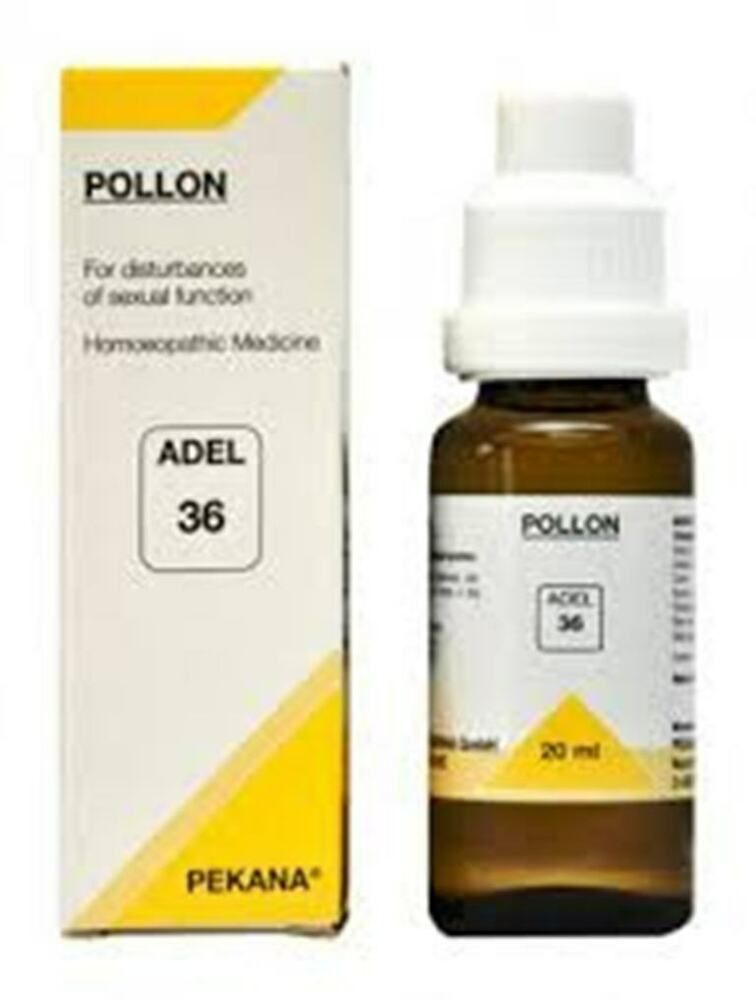Adel 36 Pollon Homeopathic Homeopathy Medicine Disturbances of Sexual Function