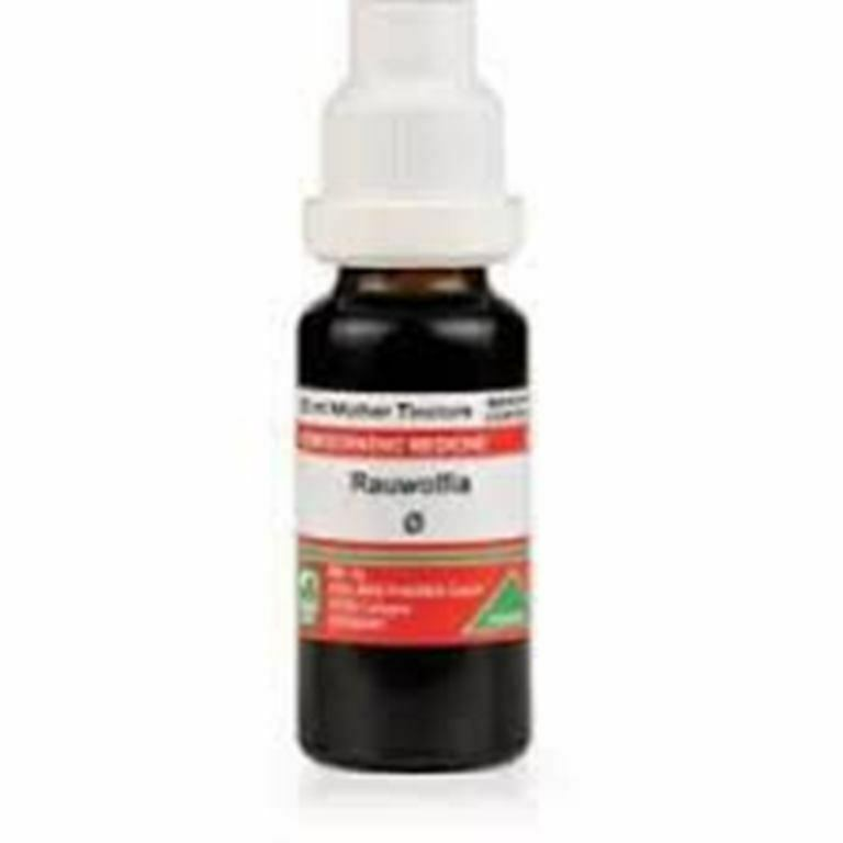ADEL Germany Rauwolfia Mother Tincture Q Homeopathic Remedy Free shipping