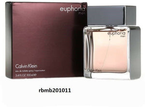 Calvin Klein Euphoria Perfume for Men * 3.4 oz 100 ML Eau De Toilette New SEALED