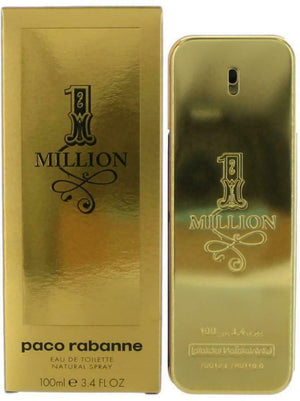 Paco 1 MILLION by Paco Rabanne Men one 3.4 oz EDT 3.3 NEW IN BOX