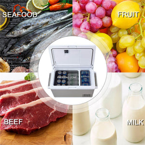 Aspenora Portable Fridge Freezer 12V Car Refrigerator Car Fridge with Compressor Touch Screen for Vehicle Truck RV Camping Travel Outdoor Driving