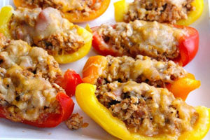 Healthy Nachos Recipe with Bell Pepper