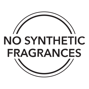 No synthetic fragrances are used in organic skincare products