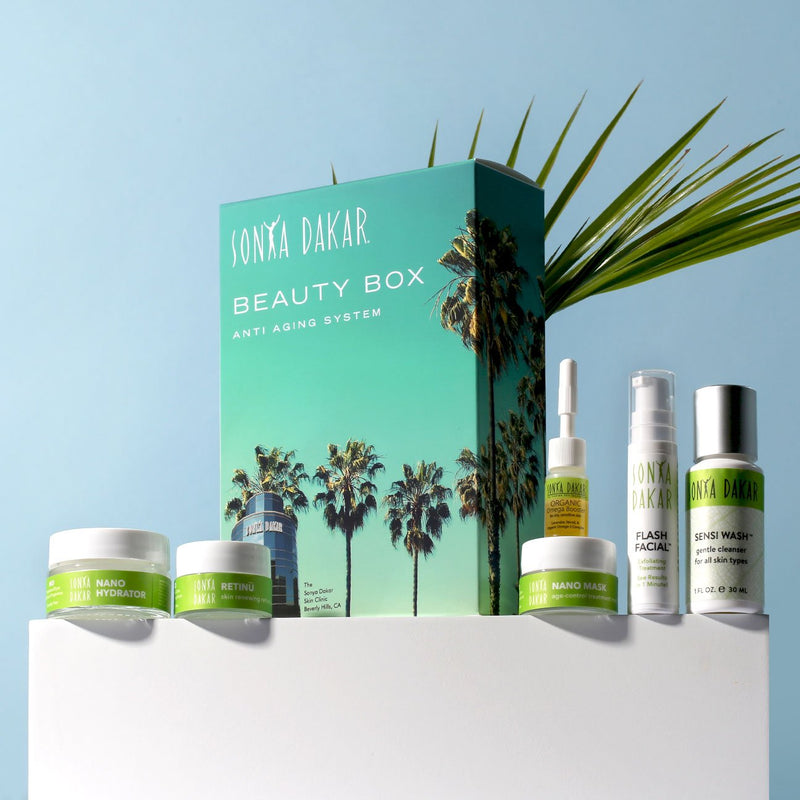 Sonya Dakar Anti-Aging Skincare Collection