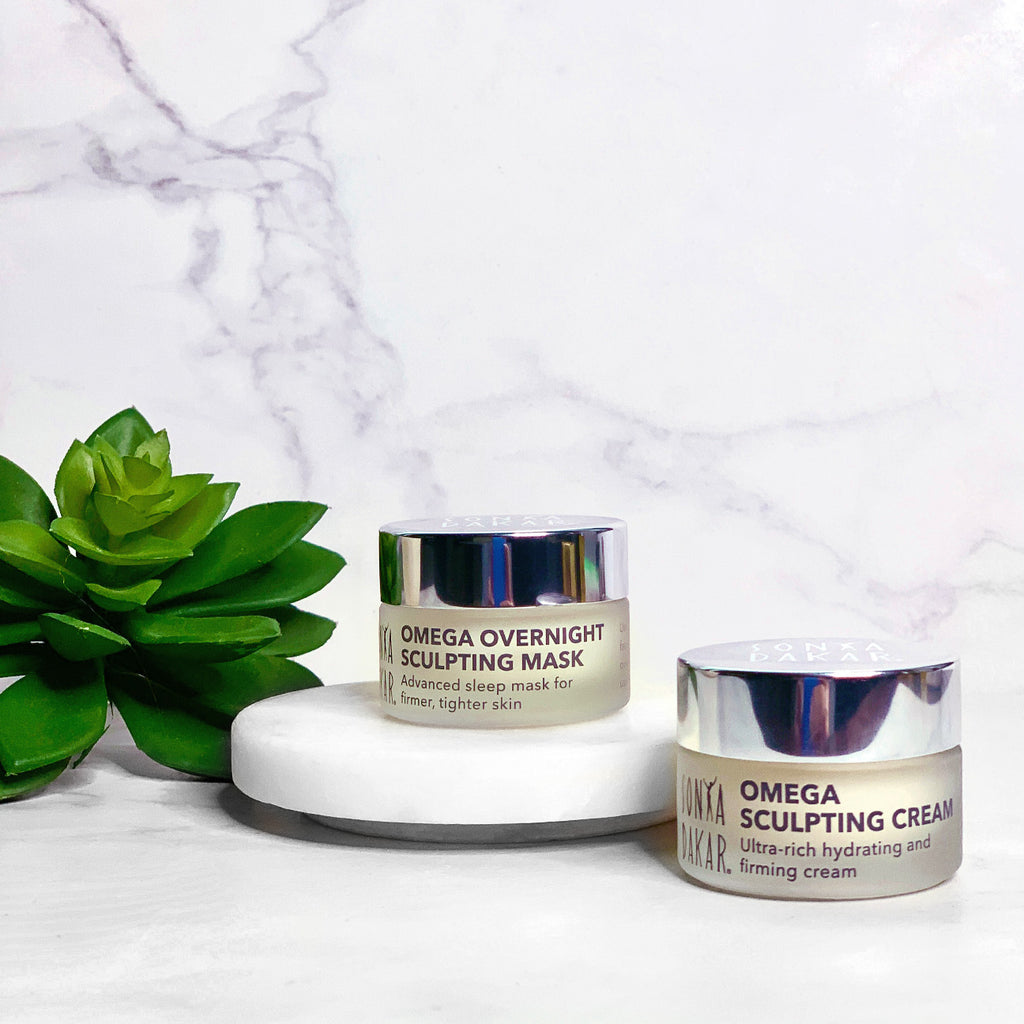 Omega Sculpting Mask and Cream Travel Set