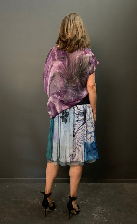 Painted Slouch Top (Galactic)