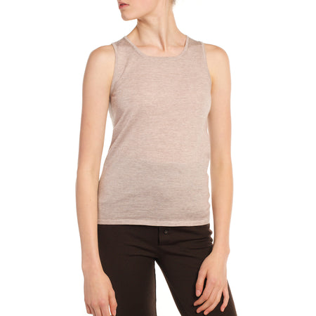 Sleeveless Shell (Additional Colours Available)