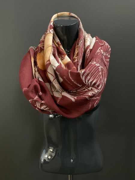 Slinger Shawl Scarf (Two Variations)