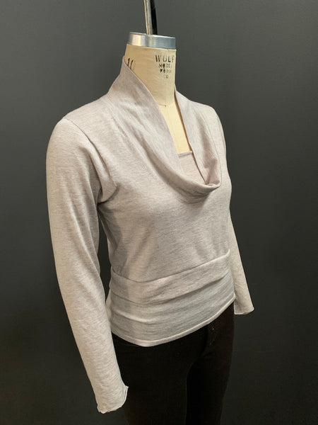 Two Piece Cropped Cowl with Camisole (Additional Colours Available)