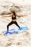 "Eco Yoga Mat ""Beneath the Waves"""