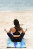 "Eco Yoga Mat ""Waves"""