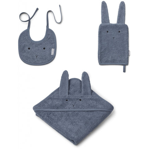 PACK BABY RABBIT BLUE