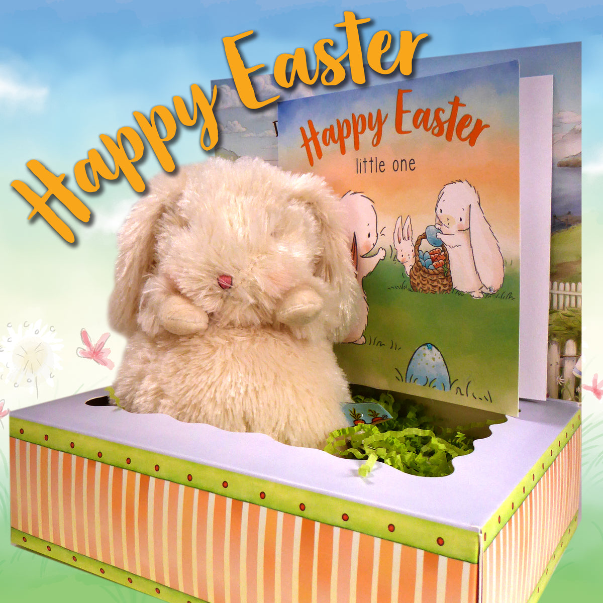 Easter Bunny and Card Box