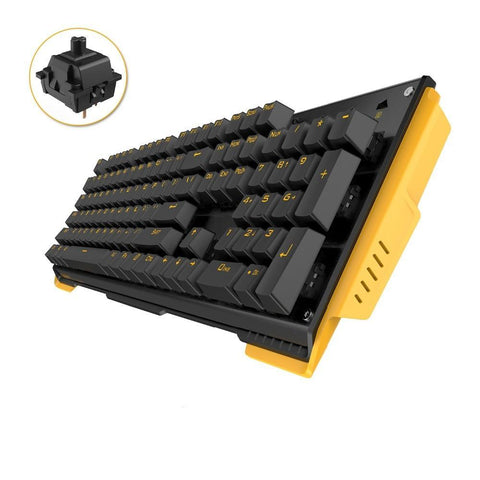USB Wired 104 Key Mechanical Gaming Keyboard (ANTI GHOSTING)