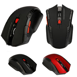 Mini Wireless Optical Gaming Mouse with USB Receiver