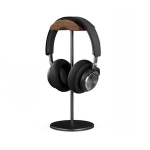 Wooden and Aluminium Headphone Stand