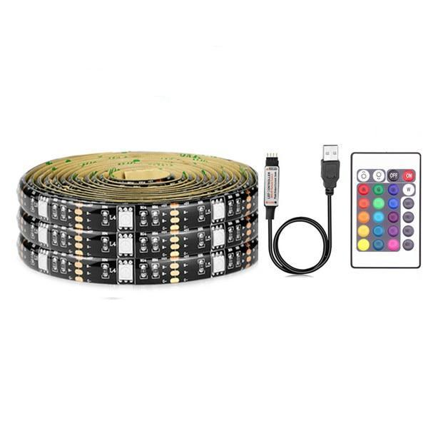 USB Powered LED Light Strip (50CM/1M/2M/3M/4M/5M Set)